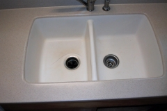 sink #6 before